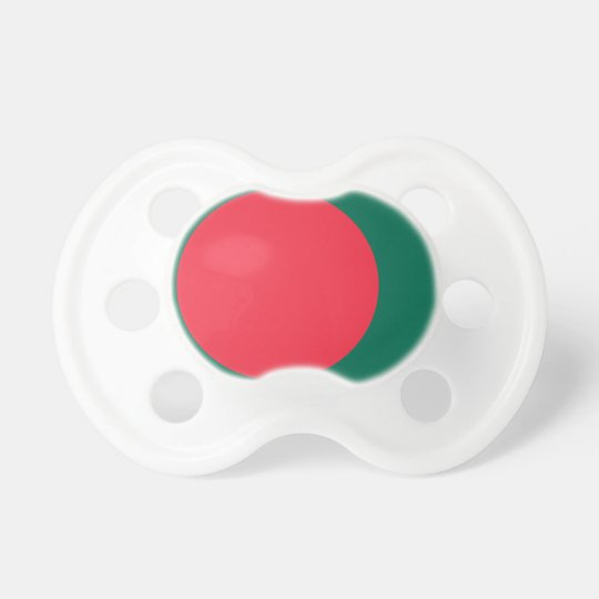 Low Cost! Bangladesh Flag Pacifiers