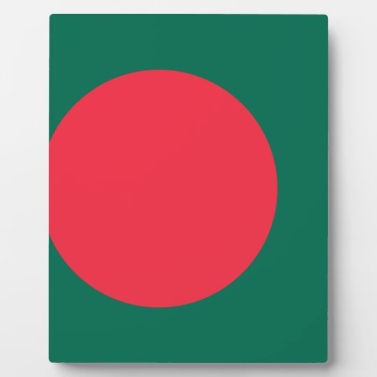 Low Cost! Bangladesh Flag Photo Plaque