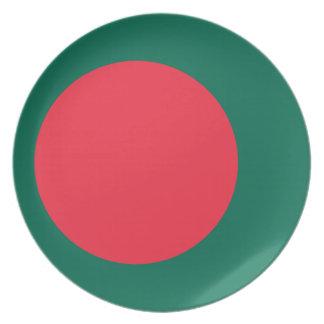 Low Cost! Bangladesh Flag Plate