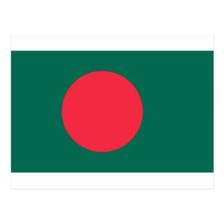 Low Cost! Bangladesh Flag Postcard