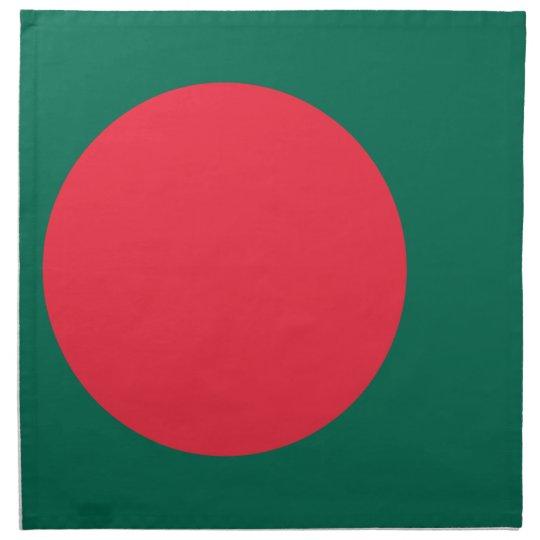 Low Cost! Bangladesh Flag Printed Napkin