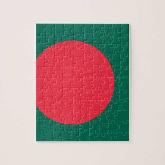 Low Cost! Bangladesh Flag Puzzle