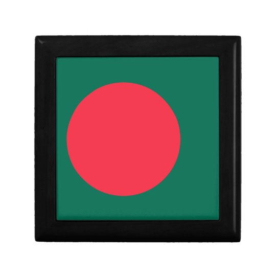 Low Cost! Bangladesh Flag Small Square Gift Box