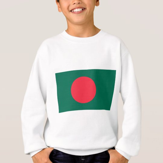 Low Cost! Bangladesh Flag Sweatshirt