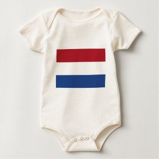 Low Cost! Caribbean Netherlands Flag Baby Bodysuit
