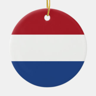 Low Cost! Caribbean Netherlands Flag Ceramic Ornament
