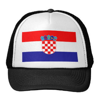 Low Cost! Croatian Flag Cap
