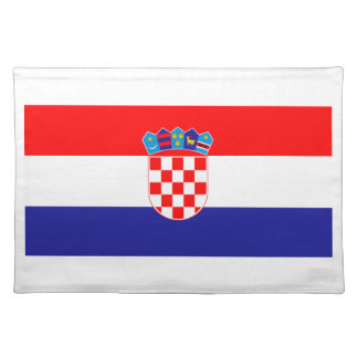 Low Cost! Croatian Flag Placemat