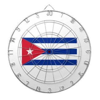 Low Cost! Cuba Flag Dartboard