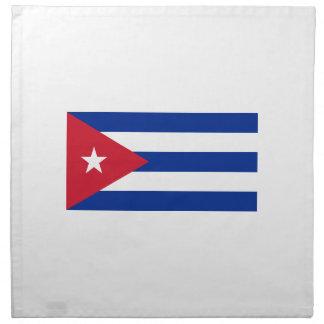 Low Cost! Cuba Flag Napkin