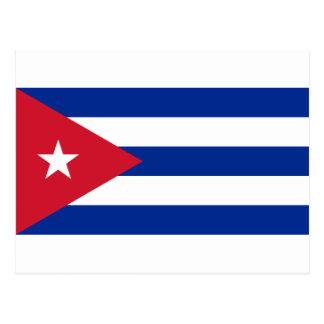 Low Cost! Cuba Flag Postcard
