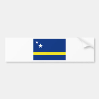 Low Cost! Curacao Flag Bumper Sticker
