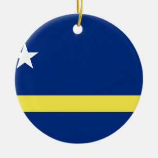 Low Cost! Curacao Flag Ceramic Ornament