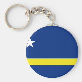 Low Cost! Curacao Flag Key Ring