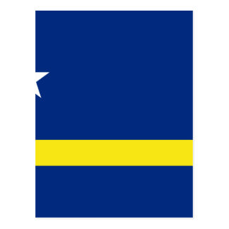 Low Cost! Curacao Flag Postcard