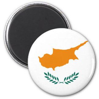 Low Cost! Cyprus Flag 6 Cm Round Magnet