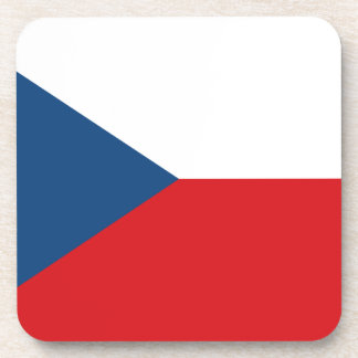 Low Cost! Czech Republic Flag Coaster