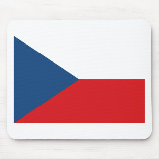 Low Cost! Czech Republic Flag Mouse Pad