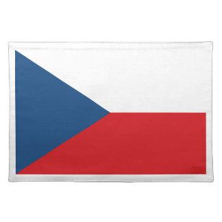 Low Cost! Czech Republic Flag Placemat