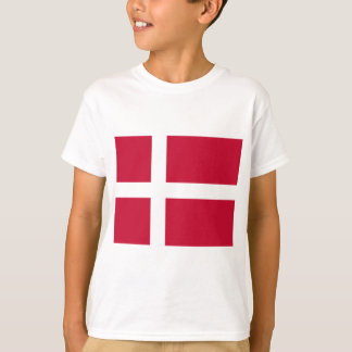 Low Cost! Denmark Flag T-Shirt