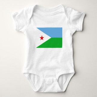 Low Cost! Djibouti Flag Baby Bodysuit