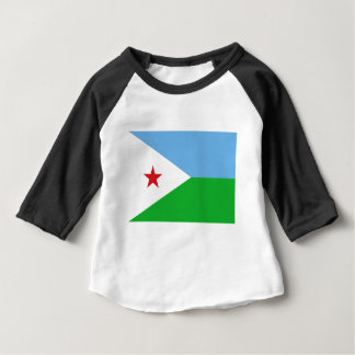 Low Cost! Djibouti Flag Baby T-Shirt