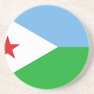 Low Cost! Djibouti Flag Beverage Coasters