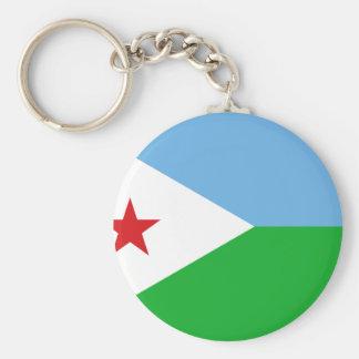 Low Cost! Djibouti Flag Key Ring