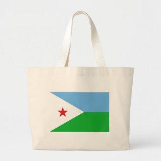 Low Cost! Djibouti Flag Large Tote Bag