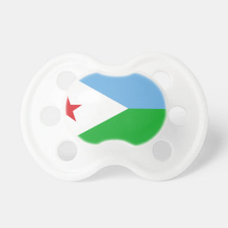 Low Cost! Djibouti Flag Pacifiers
