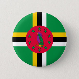 Low Cost! Dominica Flag 6 Cm Round Badge