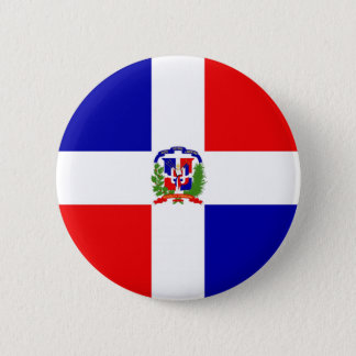 Low Cost! Dominican Republic 6 Cm Round Badge