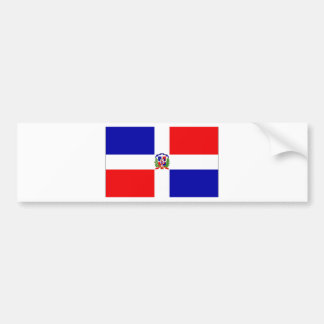 Low Cost! Dominican Republic Bumper Sticker