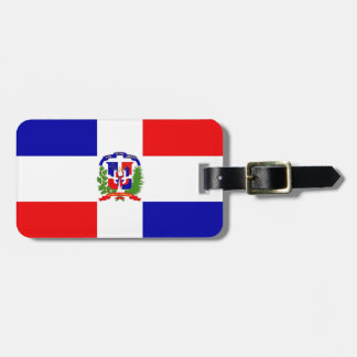 Low Cost! Dominican Republic Luggage Tag