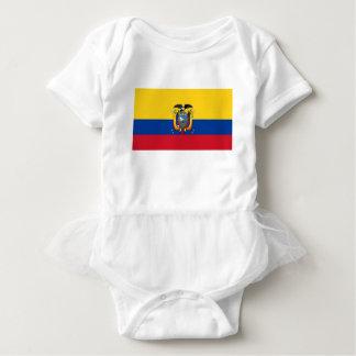 Low Cost! Ecuador Flag Baby Bodysuit