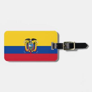 Low Cost! Ecuador Flag Luggage Tag