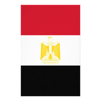 Low Cost! Egypt Flag Stationery Design