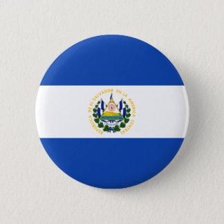 Low Cost! El Salvador Flag 6 Cm Round Badge