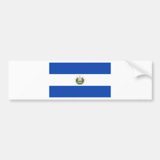 Low Cost! El Salvador Flag Bumper Sticker