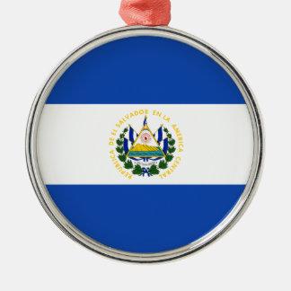 Low Cost! El Salvador Flag Metal Ornament