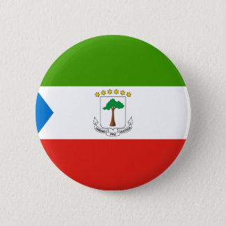 Low Cost! Equatorial Guinea Flag 6 Cm Round Badge