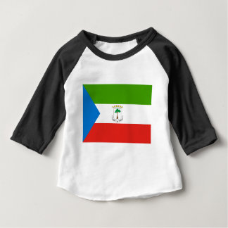 Low Cost! Equatorial Guinea Flag Baby T-Shirt