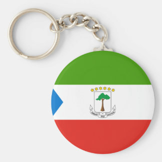 Low Cost! Equatorial Guinea Flag Key Ring