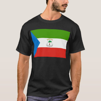 Low Cost! Equatorial Guinea Flag T-Shirt