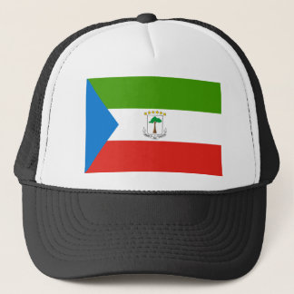 Low Cost! Equatorial Guinea Flag Trucker Hat