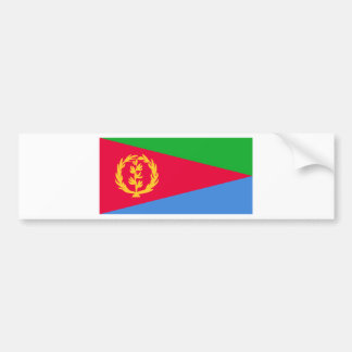 Low Cost! Eritrea Flag Bumper Sticker