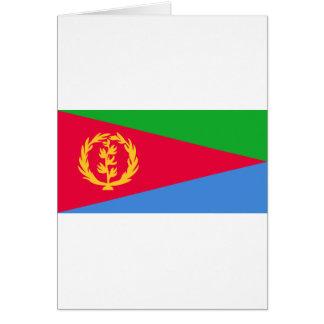 Low Cost! Eritrea Flag Card