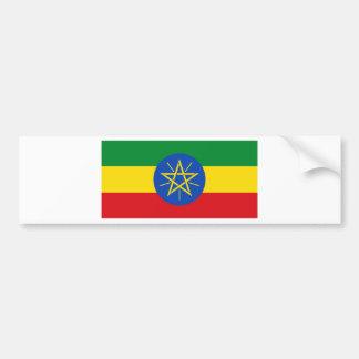 Low Cost! Ethiopia Flag Bumper Sticker
