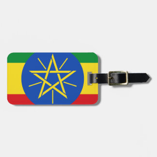 Low Cost! Ethiopia Flag Luggage Tag