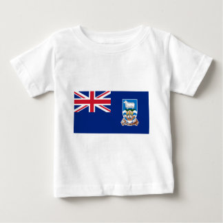 Low Cost! Falkland Islands Flag Baby T-Shirt
